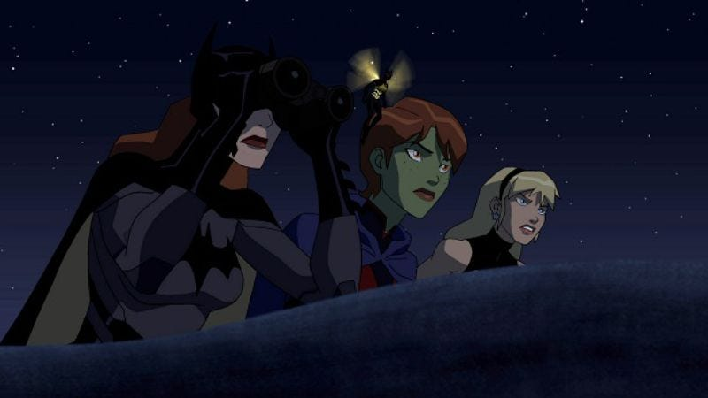 """Illustration for article titled Young Justice: """"Beneath"""""""