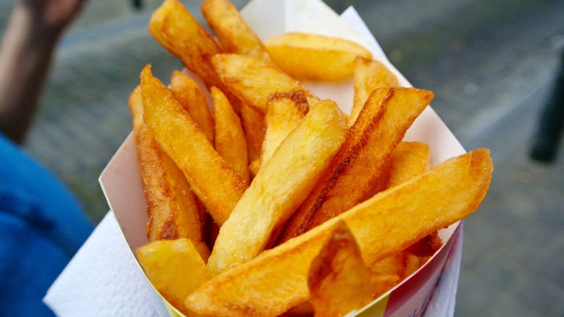 Illustration for article titled Fries in Europe may shrink by an inch