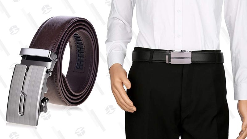 VBIGER Ratchet Belts   $9   Amazon   Promo code JY63RPLU