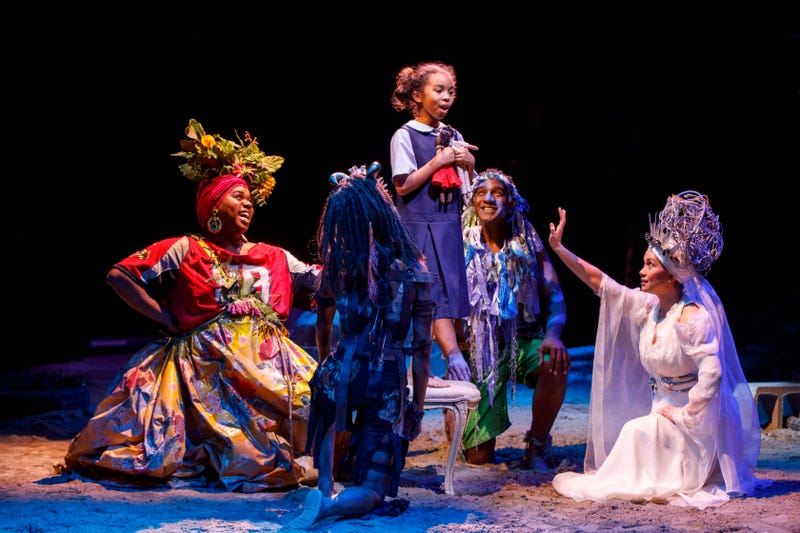 A scene in the Broadway production of Once on This Island
