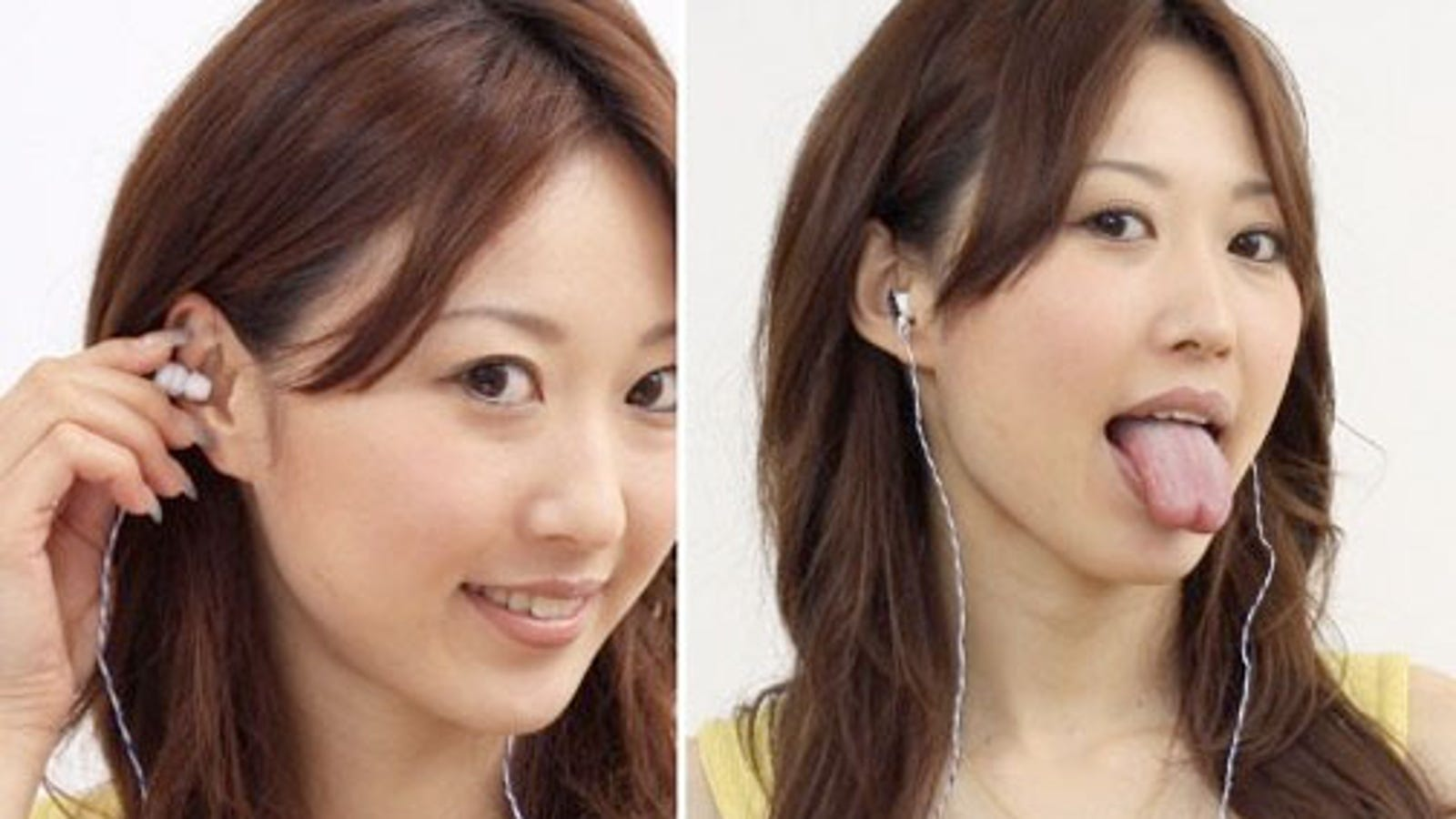 earbud iphone adapter - 'Ear Switch' Earbuds Control Gadgets With Nothing But Your Ridiculous Facial Expressions