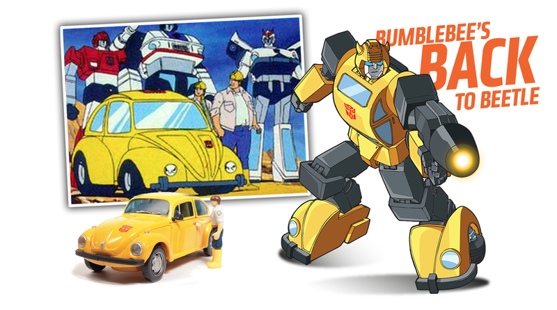 Blebee Returns In His Original Volkswagen Beetle Form The Next Transformers Movie
