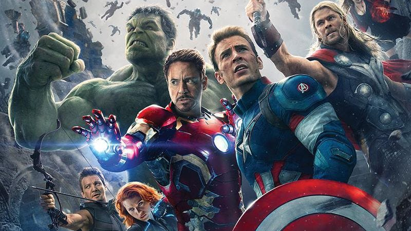 Illustration for article titled Here's the official poster for Avengers: Age Of Ultron