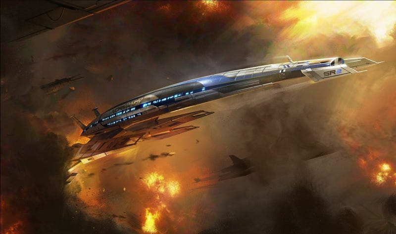 Illustration for article titled Mass Effect Gets Its Own Theme Park Ride