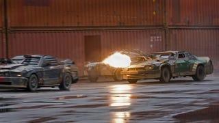 Illustration for article titled Death Race: Filmed by Running Cameras Over