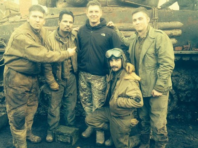 Images Of The Movie Fury: How The Cast Of Fury Trained For The Most Realistic WWII
