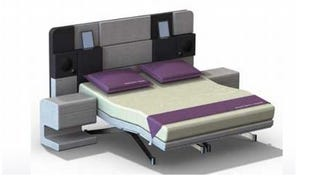 Illustration for article titled $20,000 Hollandia iCon Bed Is Really Just A Gigantic SNES
