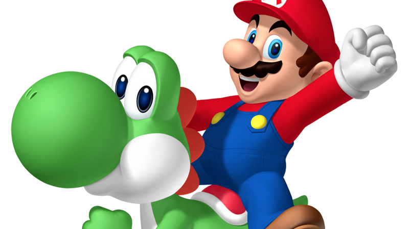 In Super Mario World, Yoshi was getting punched in the head