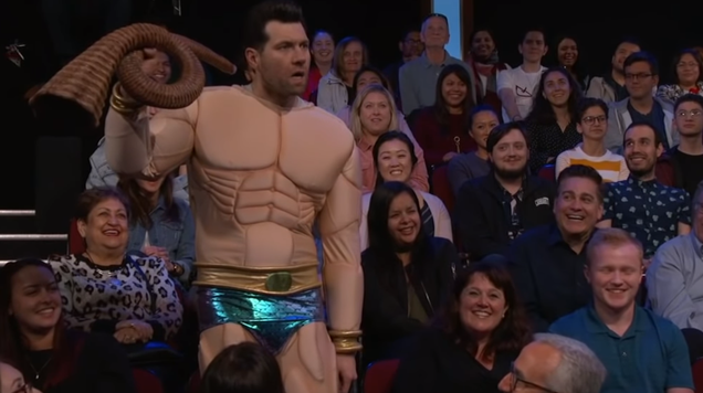 Billy Eichner s Namor Really, Really Does Not Appreciate the Aquaman Movie