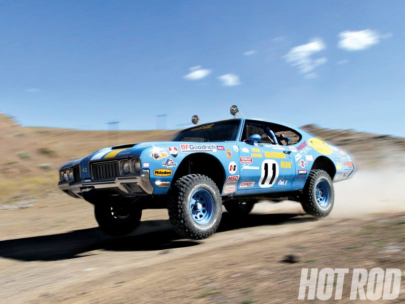 Illustration for article titled Rally Muscle Car? Rally Muscle Car.