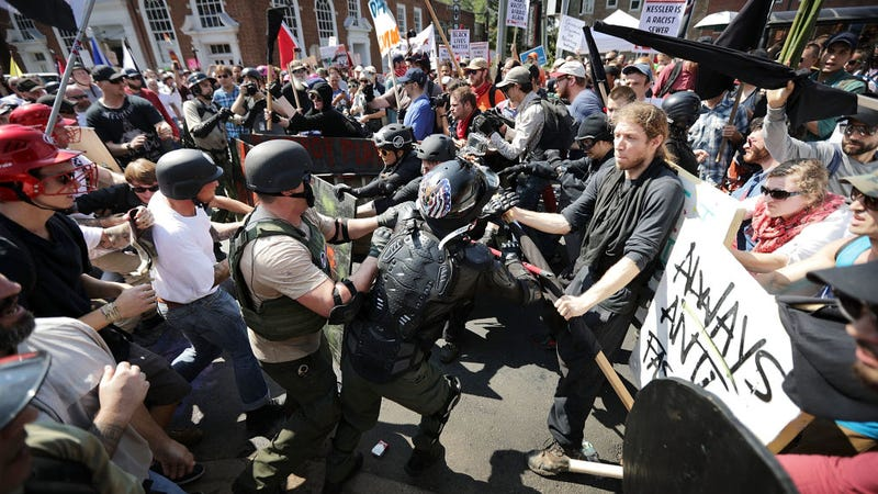 Those Va. Police Really Fucked The Dog in Charlottesville, Eh?