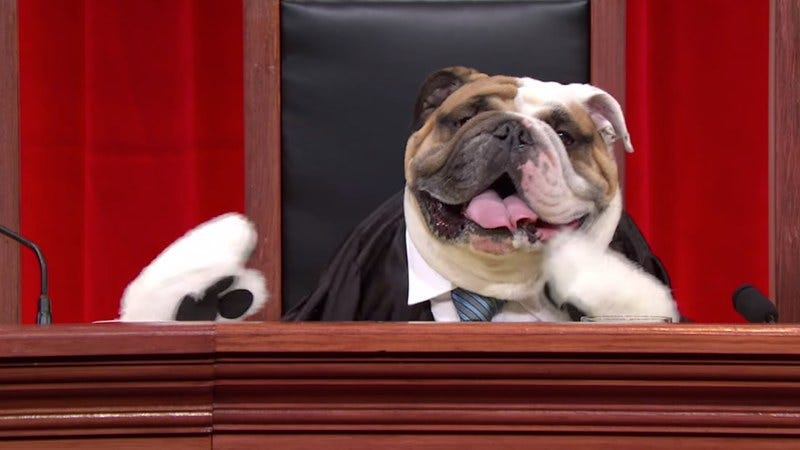 Justice Antonin Scalia, as imagined by Last Week Tonight With John Oliver