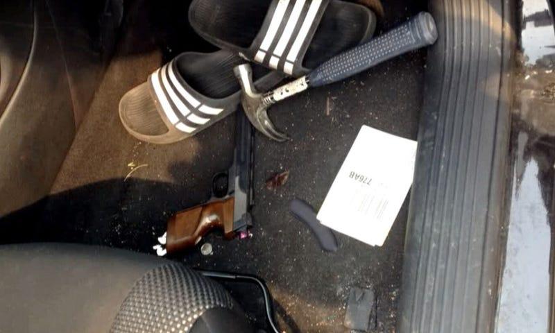 Illustration for article titled Police Return Woman's Stolen Car, Leave Minor Crimes Starter Kit Inside