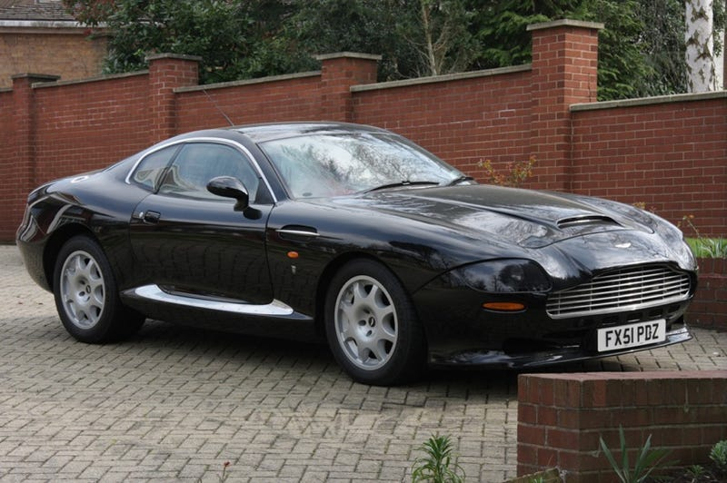 Illustration for article titled Google Street View Hits London with Ultra-Rare Aston Martin V8 Vantage Special Series II