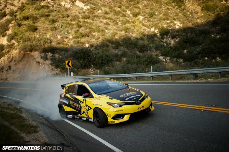 Illustration for article titled Toyota Auris Drift Car