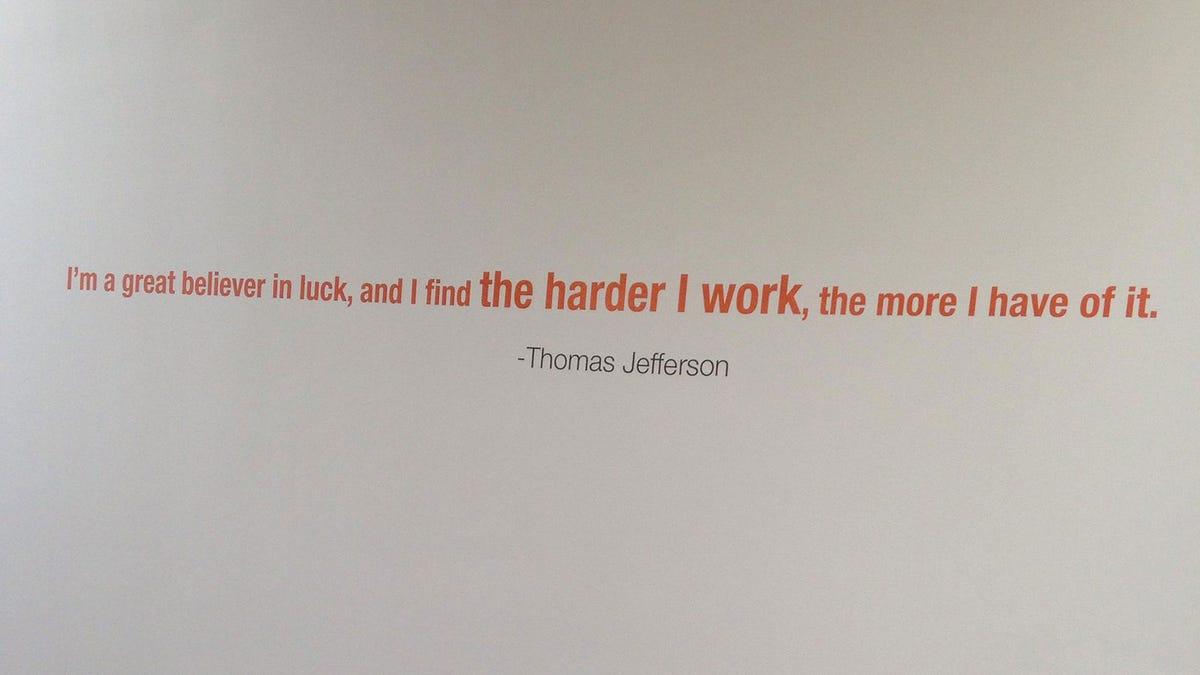The New Browns Facilitys Walls Are Full Of Fake Quotes