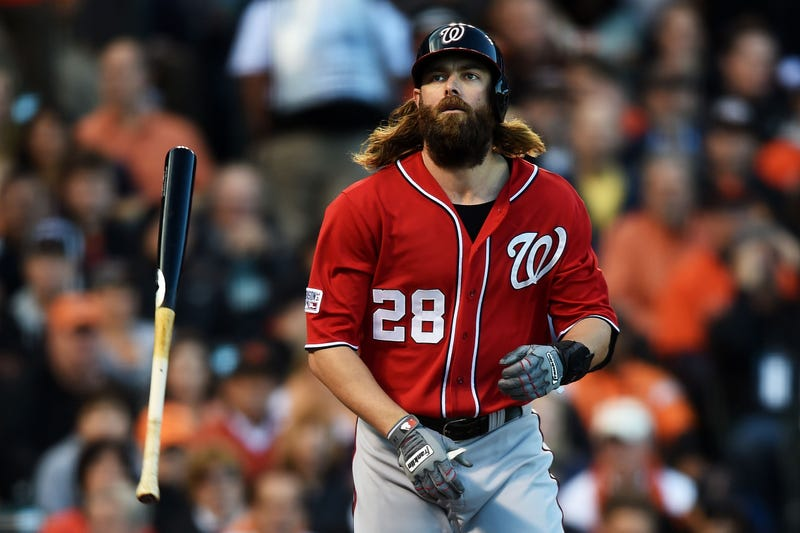 Illustration for article titled Jayson Werth Gets 10 Days In Jail For Doing 50 MPH Over The Limit