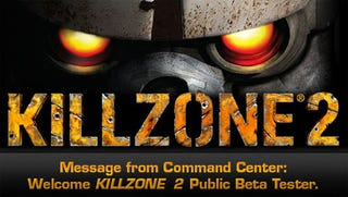 Illustration for article titled Killzone 2 Beta Invites Glowing Out Now