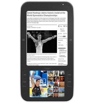 Illustration for article titled Spring Design's Alex eReader Runs Android, Has Dual Displays