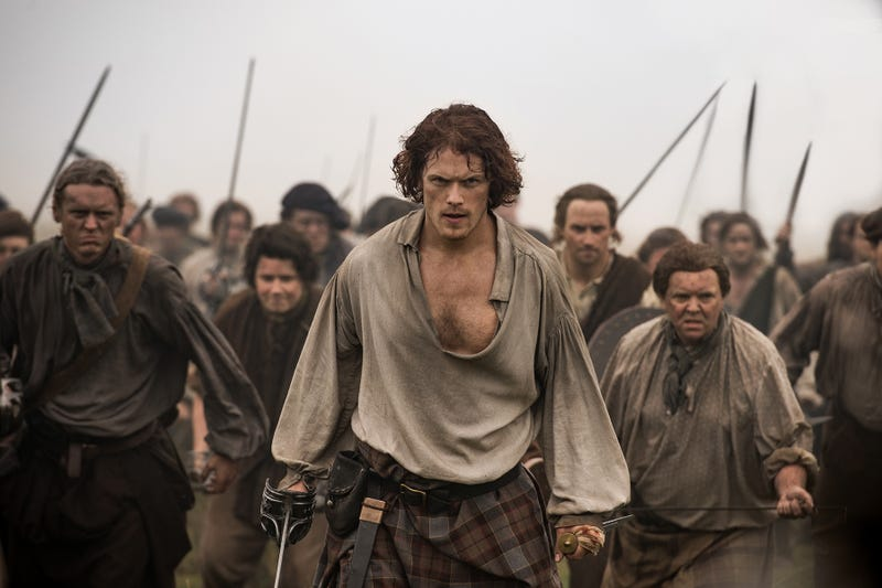 Let's face it, we're probably going to go with Outlander (Photo: Starz)
