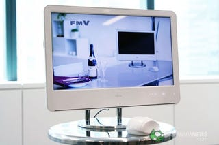 Illustration for article titled Fujitsu FMV F-A50 is iMac's Younger PC Cousin