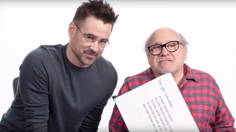 Illustration for article titled This wild interview with Danny DeVito and Colin Farrell is enough to make us want to see Dumbo