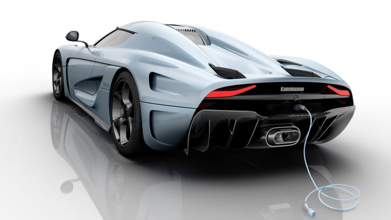 How The 1,500 HP Koenigsegg Regera Hits 248 MPH Without A Gearbox