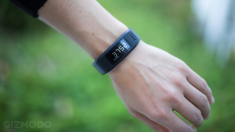 Garmin Vivofit Bluetooth Fitness Band Bundle with Heart Rate Monitor, $50