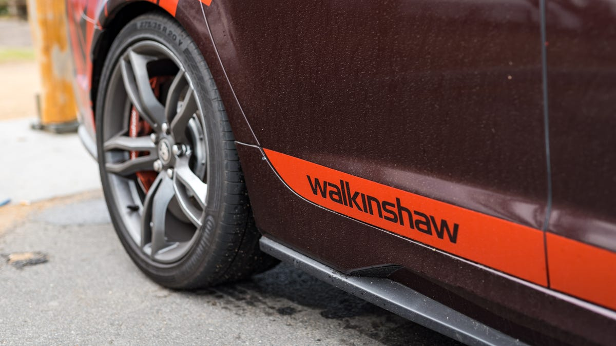 This Ludicrous 750 HP Walkinshaw Holden HSV Commodore Was