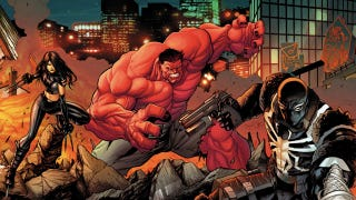 Illustration for article titled Marvel resurrects the New Fantastic Four with X-23, Red Hulk, Venom, and She-Ghost Rider