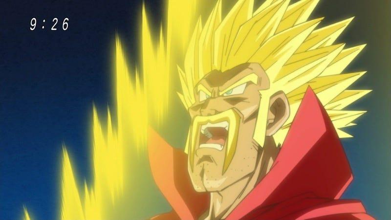 Illustration for article titled Mr. Satan se convertirá enSuper Saiyanen el próximo episodio deDragon Ball. Espera, ¿qué?