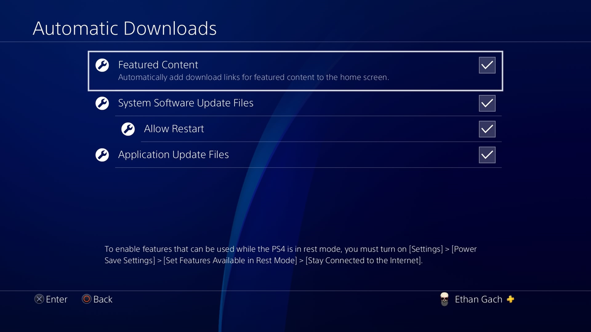 I'm Still Never Sure When My PS4 Will Automatically Update A Game