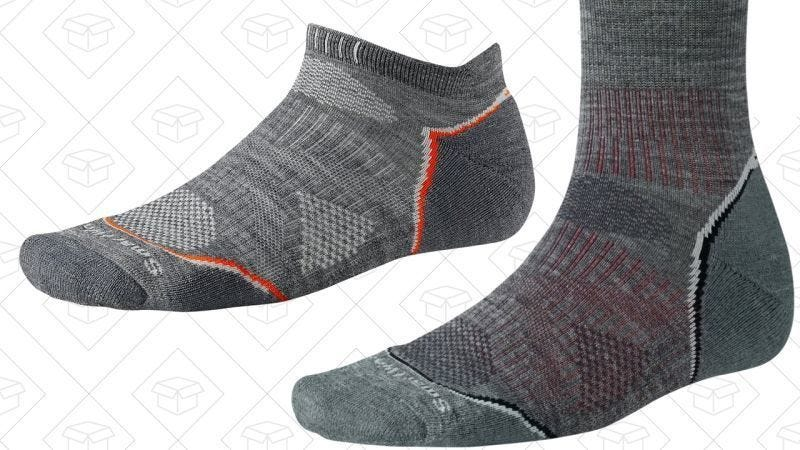 33% off Smartwool socks with code SMARTWOOL3. Must include three items.