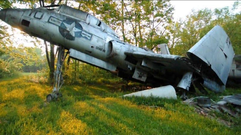 Illustration for article titled Secret Ohio Warplane Graveyard Unearthed