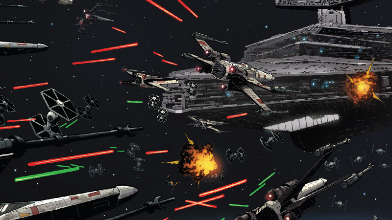 Illustration for article titled The Star Wars Comic Shows Us Stealing a Star Destroyer Is a Lot Like Blowing Up a Death Star