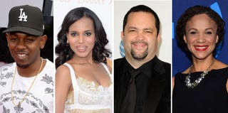 Kendrick Lamar; Kerry Washington; Benjamin Todd Jealous; Melissa Harris-Perry (Getty Images)