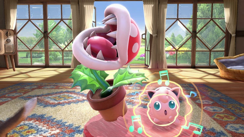 Illustration for article titled Some Smash Bros. Ultimate Players Still Can't Access Piranha Plant [Update]