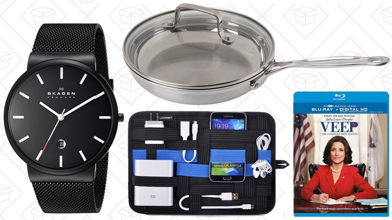Illustration for article titled Today's Best Deals: Tri-Ply Cookware, Discounted Watches, Nike Clearance, and More