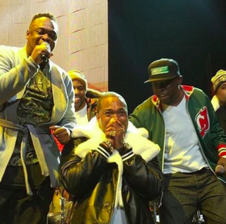 Busta Rhymes and members of A Tribe Called QuestInstagram