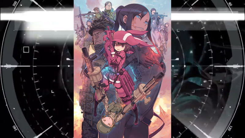 Illustration for article titled A Gut Check of the Sword Art Online Alternative Gun Gale Online Anime Announcement