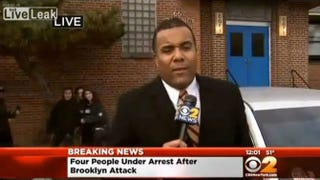 """Several people have been arrested in New York City and Philadelphia in connection with the """"knockout game.""""CBS News screenshot"""