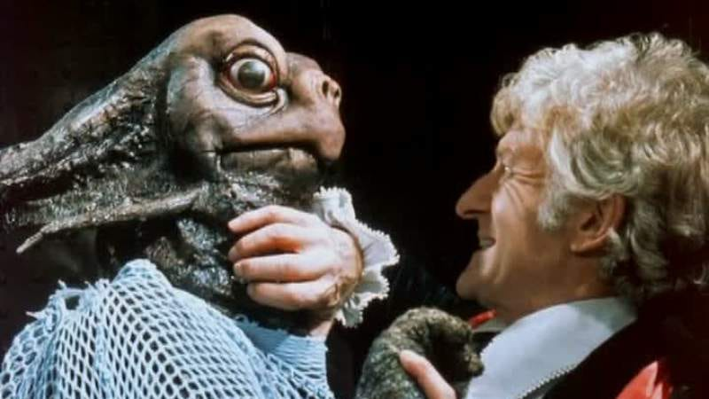 """Illustration for article titled Doctor Who (Classic): """"The Sea Devils"""""""