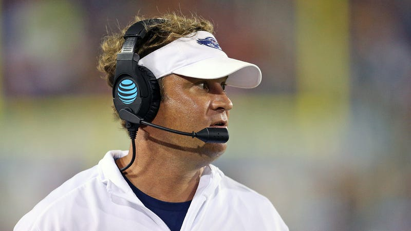 up 31 points lane kiffin went for two to spite akron athletics official