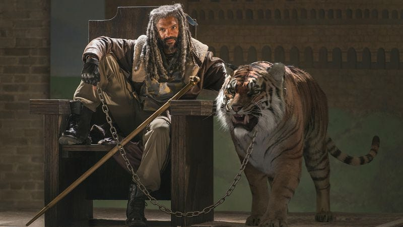Illustration for article titled A kingdom and a king give us something to root for on The Walking Dead