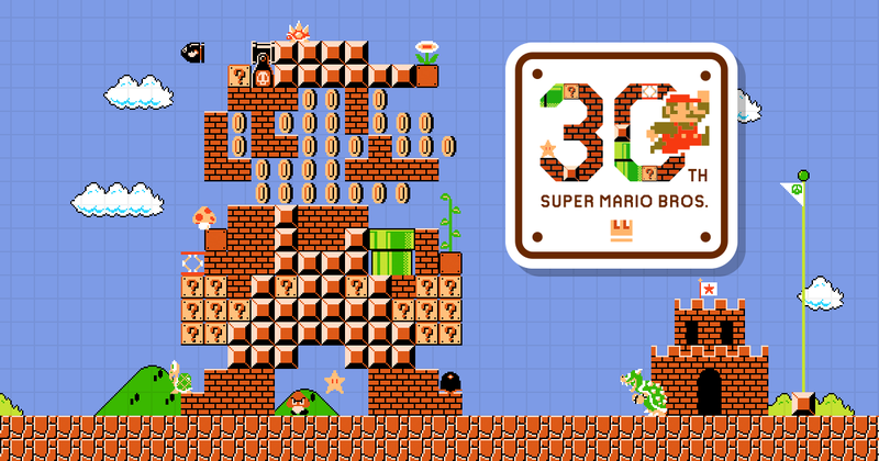30 Years, 30 Games, 30 Songs to Celebrate Mario