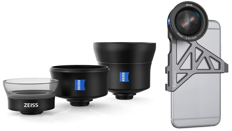 Illustration for article titled Zeiss Is Finally Making High-Quality Lenses For Your iPhone