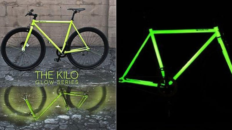 Illustration for article titled Where Has This Glow-in-the-Dark Bike Been All My Life?