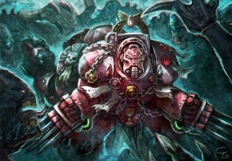 Illustration for article titled Why aren't you playing Space Hulk: Death Angel right now?