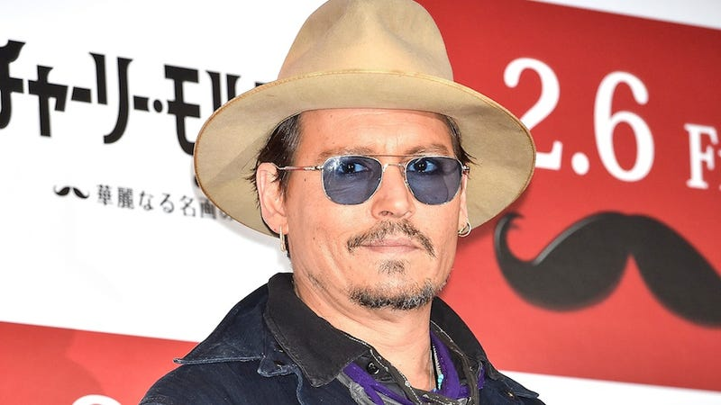 Illustration for article titled Johnny Depp Is an Eccentric Weirdo, Remember? REMEMBER?