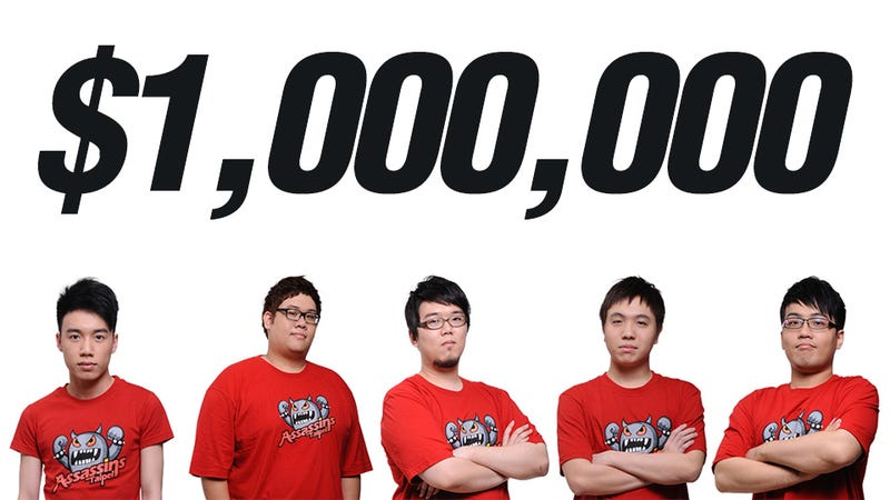 Illustration for article titled These Gamers Won $1 Million on Saturday